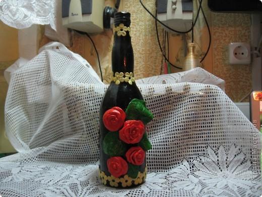 Цветущая бутылочка фото 1