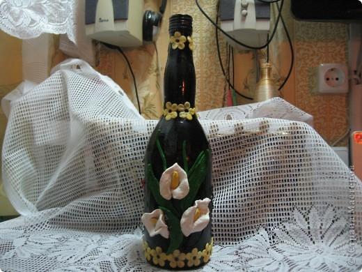Цветущая бутылочка фото 2