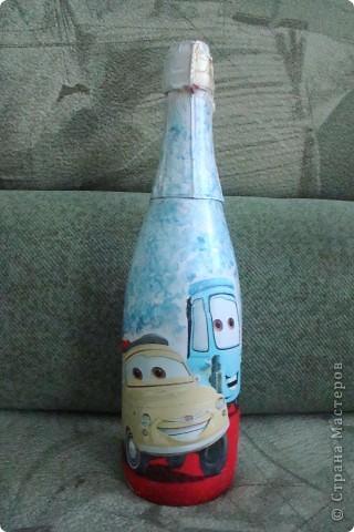 Бокал превратился в вазочку. фото 8