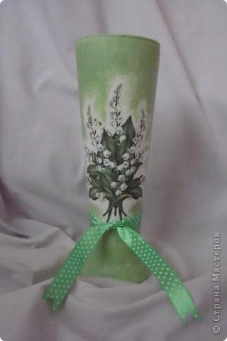 Бокал превратился в вазочку. фото 1