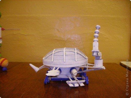 """Кружок """"Ромашка """" готовился ко дню космонавтики. Модели, которые мы сделали к 50-летию полета Ю.А. Гагарина фото 2"""