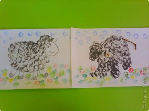 Овечка и слоник. фото 1