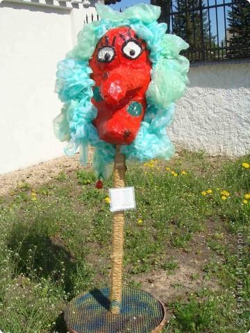 """Здравствуйте! Хочу поделиться положительными эмоциями, которые получила от поездки в г. Краславу на выставку детских работ """"Lietas un tēli"""" (Вещи и образы). Часть работ была выставлена на улице. фото 13"""