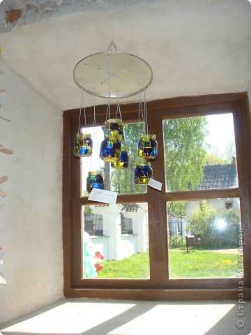 """Здравствуйте! Хочу поделиться положительными эмоциями, которые получила от поездки в г. Краславу на выставку детских работ """"Lietas un tēli"""" (Вещи и образы). Часть работ была выставлена на улице. фото 19"""