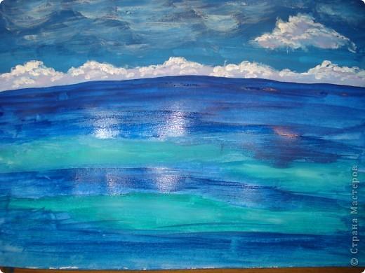 Морская зарисовка с пальмой.Специально для Натальи и её сынули. фото 8
