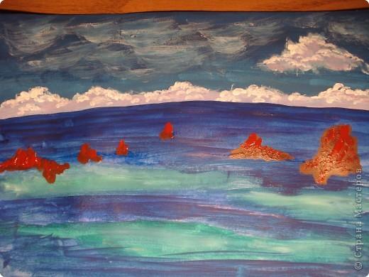 Морская зарисовка с пальмой.Специально для Натальи и её сынули. фото 10