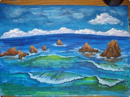Морская зарисовка с пальмой.Специально для Натальи и её сынули. фото 19