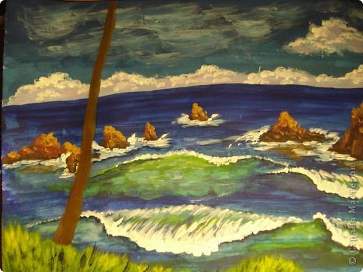 Морская зарисовка с пальмой.Специально для Натальи и её сынули. фото 22
