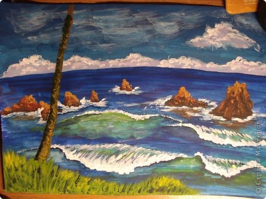 Морская зарисовка с пальмой.Специально для Натальи и её сынули. фото 23