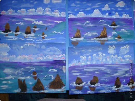 Морская зарисовка с пальмой.Специально для Натальи и её сынули. фото 26