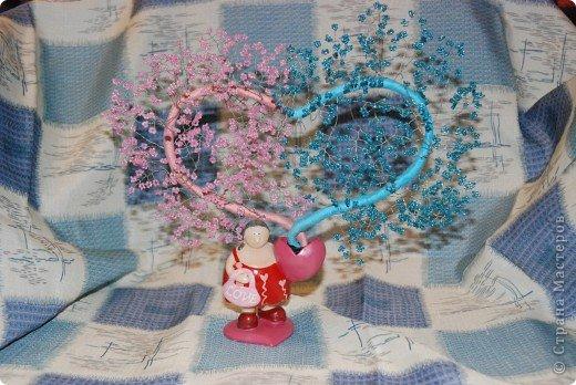 Это мое первое сердечное дерево)))  фото 1