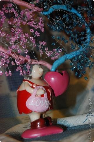 Это мое первое сердечное дерево)))  фото 2