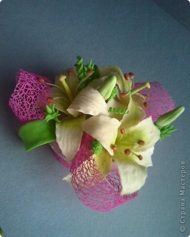 пристроила лилии фото 2