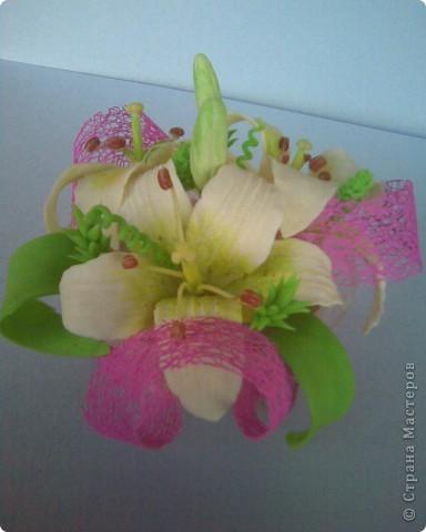 пристроила лилии фото 4