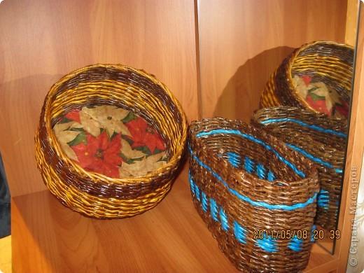 Круглая и овальная плетенки фото 1