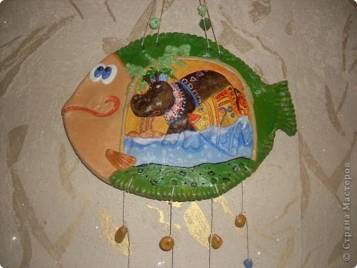 И снова меня вдохновили иллюстрации Д.Непомнящего и О.Попугаевой. Эта рыбка тоже теперь живёт в Кемерово. фото 2