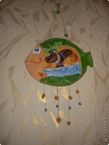 И снова меня вдохновили иллюстрации Д.Непомнящего и О.Попугаевой. Эта рыбка тоже теперь живёт в Кемерово. фото 3
