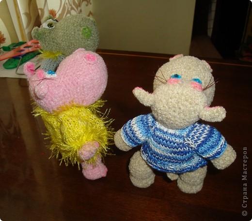 Вот так все начиналось... Дочь долго приставала с просьбой связать игрушку. Наконец-то я решилась... фото 11