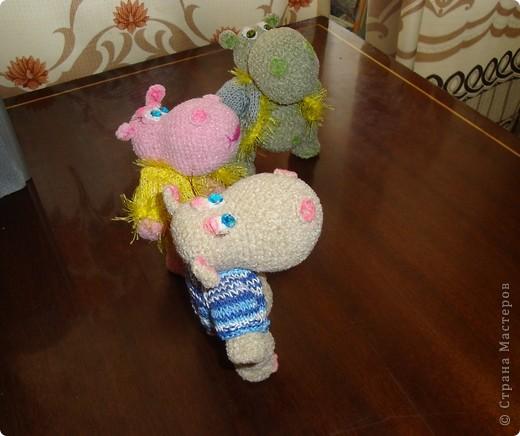 Вот так все начиналось... Дочь долго приставала с просьбой связать игрушку. Наконец-то я решилась... фото 12