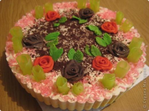 """загорелась идеей сделать тортик из мыла, столько красивых идей находила в интернете... и вот мой самый первый тортик из детского мыла. на весь торт ушло 3 куска детского мыла, молока примерно 300-400мл, 3 ложки персикового масла, эфирное масло апельсин, ну и мыло """"дуру"""" и """"палмолив"""" фото 11"""