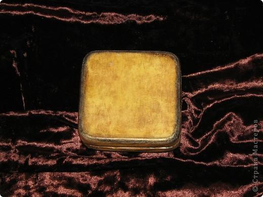 Свадебная шкатулка для колец с семейным гербом фото 4