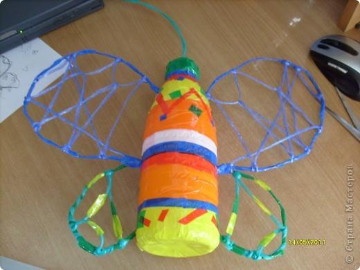 Бабочка ( игра со скотчем) фото 4