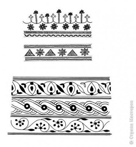 """Очень многие увлекаются росписью хной по телу рисуют различной сложности узоры, орнаменты, а кто-нибудь задумывался, что означают те или иные символы. Давайте немного углубимся и узнаем тайны наших с вами рисунков. Сегодня рассмотрим значение узоров в Индии .  Менди-индийское название хны. Роспись по телу с помощью хны представляет собой духовную и терапевтическую процедуру, вот почему менди никогда не наносят в спешке. В индийской культуре огромное значение имеет символизм и менди тоже говорит на языке символов. Рисунки хной, которые делают в Индии и Пакистане, самые сложные в мире. В наиболее популярных из них используется узор с """"огурцами"""". фото 5"""