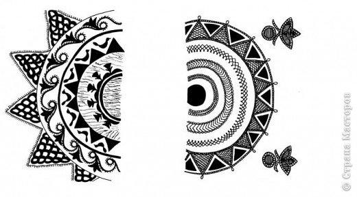 """Очень многие увлекаются росписью хной по телу рисуют различной сложности узоры, орнаменты, а кто-нибудь задумывался, что означают те или иные символы. Давайте немного углубимся и узнаем тайны наших с вами рисунков. Сегодня рассмотрим значение узоров в Индии .  Менди-индийское название хны. Роспись по телу с помощью хны представляет собой духовную и терапевтическую процедуру, вот почему менди никогда не наносят в спешке. В индийской культуре огромное значение имеет символизм и менди тоже говорит на языке символов. Рисунки хной, которые делают в Индии и Пакистане, самые сложные в мире. В наиболее популярных из них используется узор с """"огурцами"""". фото 17"""