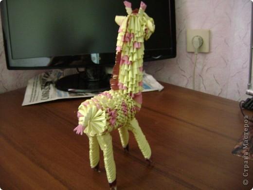Жираф. Авторская работа фото 4