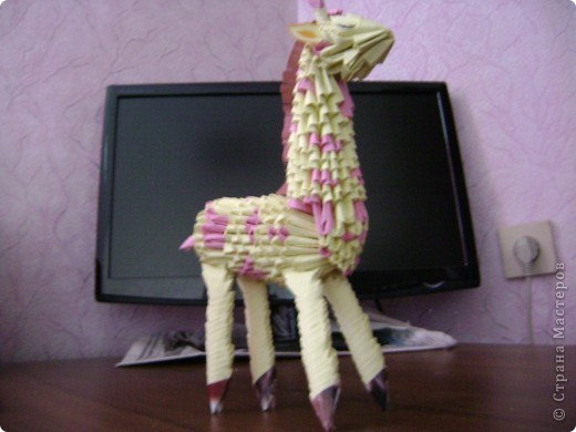 Жираф. Авторская работа фото 3
