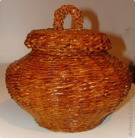 Горшочек для хранения лука или еще чего-нибудь. фото 1