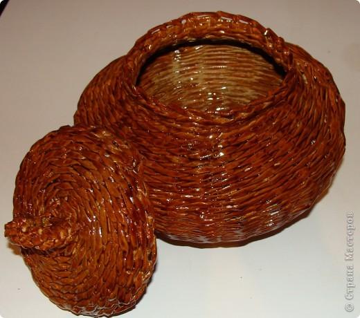 Горшочек для хранения лука или еще чего-нибудь. фото 2