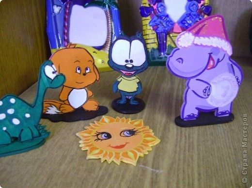 """Самые маленькие ребята начинают вот с таких плоскостных сувениров """"солнышко"""". фото 7"""