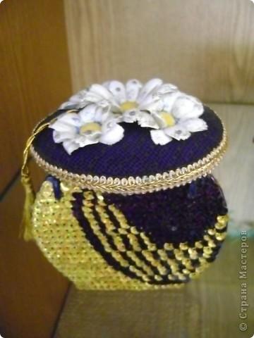 Шкатулка декоративная для бижутерии. фото 1