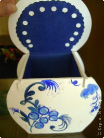 Шкатулка декоративная для бижутерии. фото 6
