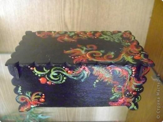 Шкатулка декоративная для бижутерии. фото 7