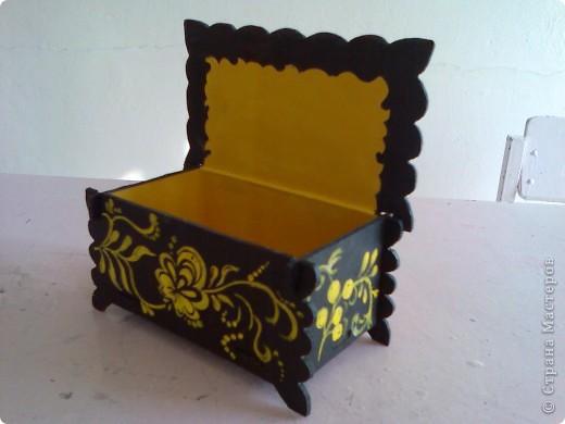 Шкатулка декоративная для бижутерии. фото 10