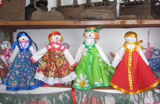Куклы-столбушки.
