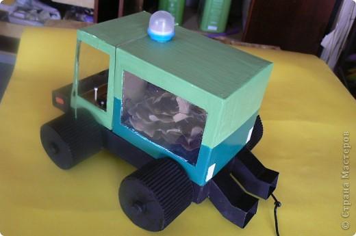 Листьеуборочная машина фото 2