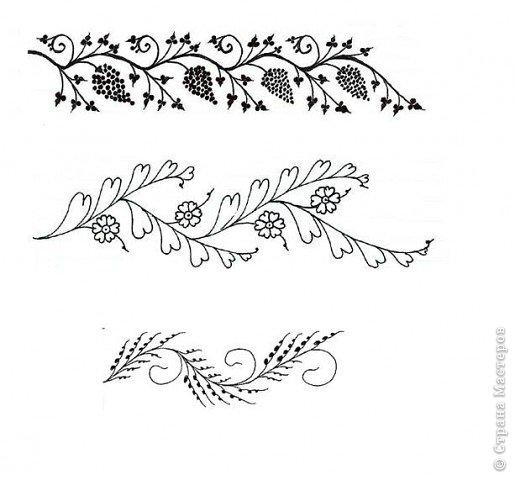 """Очень многие увлекаются росписью хной по телу рисуют различной сложности узоры, орнаменты, а кто-нибудь задумывался, что означают те или иные символы. Давайте немного углубимся и узнаем тайны наших с вами рисунков. Сегодня рассмотрим значение узоров в Индии .  Менди-индийское название хны. Роспись по телу с помощью хны представляет собой духовную и терапевтическую процедуру, вот почему менди никогда не наносят в спешке. В индийской культуре огромное значение имеет символизм и менди тоже говорит на языке символов. Рисунки хной, которые делают в Индии и Пакистане, самые сложные в мире. В наиболее популярных из них используется узор с """"огурцами"""". фото 20"""