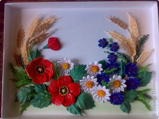 Вот, составила композицию из полевых цветов фото 3