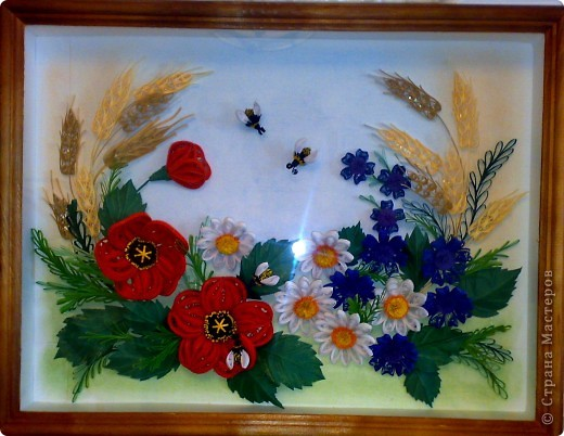Вот, составила композицию из полевых цветов фото 5