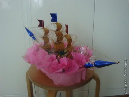 розовый кораблик мечты фото 1