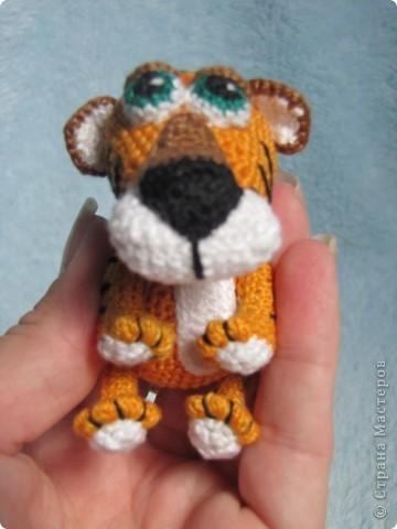 Вязанная крючком игрушка фото 3