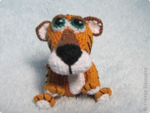 Вязанная крючком игрушка фото 1