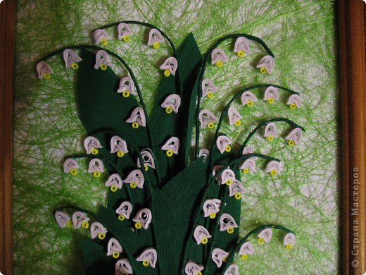 Вот и у меня теперь есть весенние цветы. Огромное спасибо всем мастерицам, пересмотрела все работы с подснежниками и ландышами, взяла понемногу у всех. У Свет-Лана http://stranamasterov.ru/node/142912, у Дватая http://stranamasterov.ru/node/86055, Спасибо вам огромное, и всем у кого есть такие же цветочки. фото 5