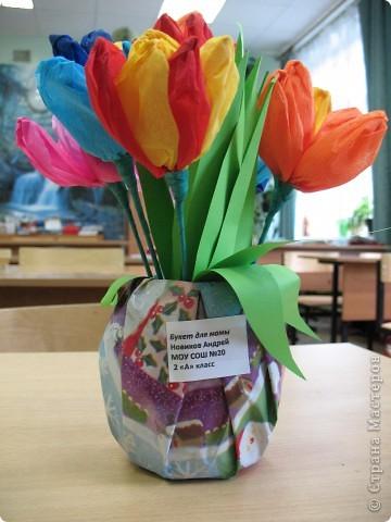 Вот и у меня теперь есть весенние цветы. Огромное спасибо всем мастерицам, пересмотрела все работы с подснежниками и ландышами, взяла понемногу у всех. У Свет-Лана http://stranamasterov.ru/node/142912, у Дватая http://stranamasterov.ru/node/86055, Спасибо вам огромное, и всем у кого есть такие же цветочки. фото 13