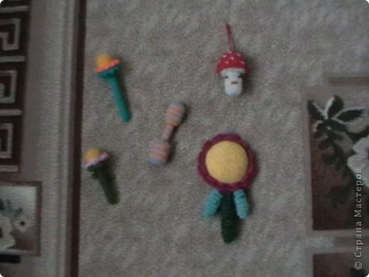 игрушки погремушки