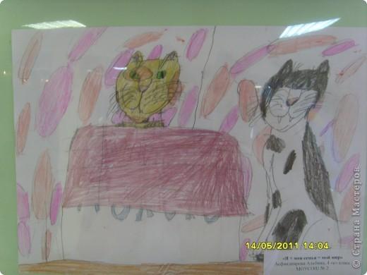 """14 мая наш благотворительный фонд """"Вера, Надежда, Любовь""""  провел выставку рисунков детей с ограниченными возможностями здоровья, посвященную Дню семьи """" Я+Моя семья=Мой мир"""" фото 9"""