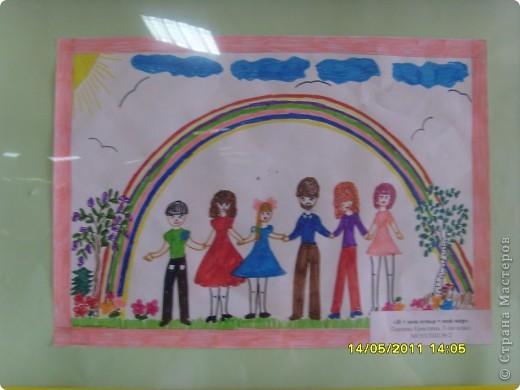 """14 мая наш благотворительный фонд """"Вера, Надежда, Любовь""""  провел выставку рисунков детей с ограниченными возможностями здоровья, посвященную Дню семьи """" Я+Моя семья=Мой мир"""" фото 13"""